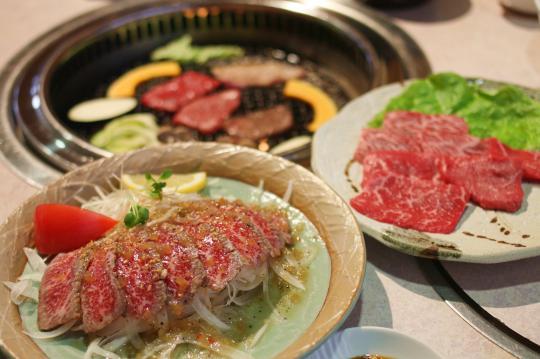 肉料理おがたの前沢牛料理