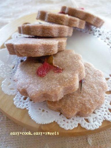 桜風味餡クッキー (3)