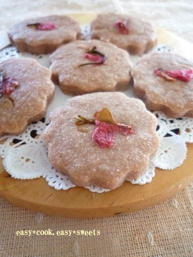 桜風味餡クッキー (4)