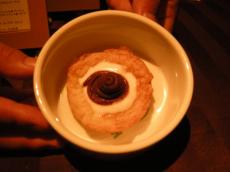 紫芋のタルト…デザートまであるなんて…あんびりーばぼー!