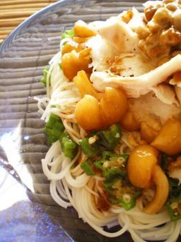 ネバネバおろし素麺2