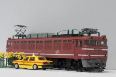 TOMIX HO-929 JR EF81形 電気機関車(JR貨物更新車)
