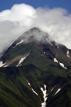 利尻富士 山頂付近
