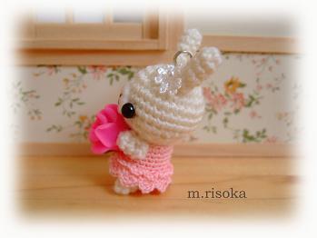 濃ピンクの花2