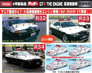targa タッカー GT-R THE ENGINE 高速機動隊