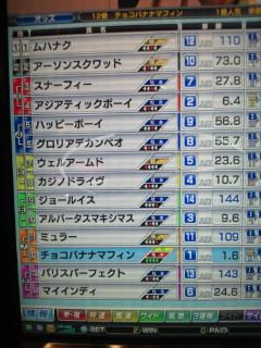 マフィン24戦目