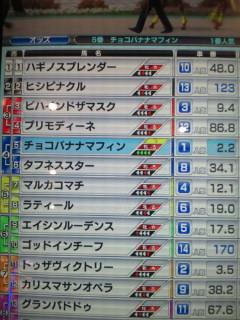 マフィン30戦目