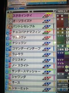マフィン31戦目結果