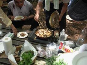 雨巻山料理2
