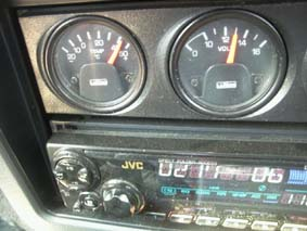 ジープ機能外気温度計
