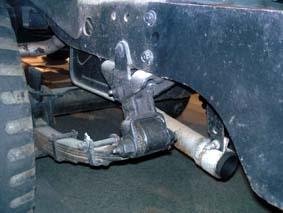 ジープ機能トヨタジープのリアシャックル