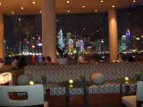 6/24香港ラウンジからの夜景