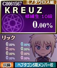 """KREUZ@リック(""""KREUZ""""は双子の兄弟、リチャードとフィリップのユニット名です)"""