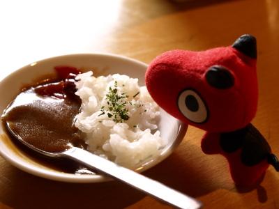 超ミニカレー&あかべぇ@HAPPY HAPPY CURRY