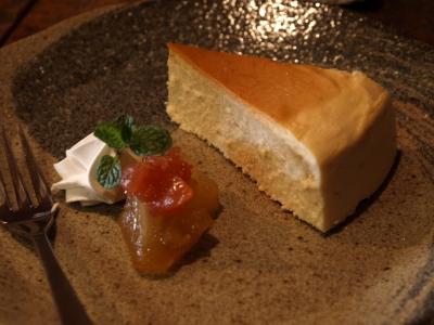 ベークドチーズケーキ@KISSACO KURA