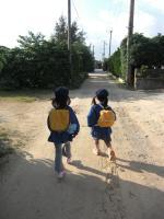 幼稚園初登園1