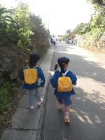 幼稚園初登園2