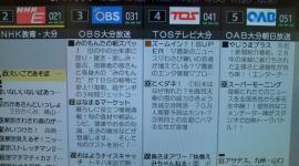大分のテレビ