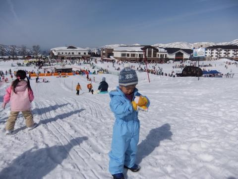 雪遊び福井