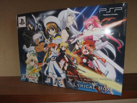 PSP 魔法少女リリカルなのはA's PORTABLE - THE BATTLE OF ACES - 01