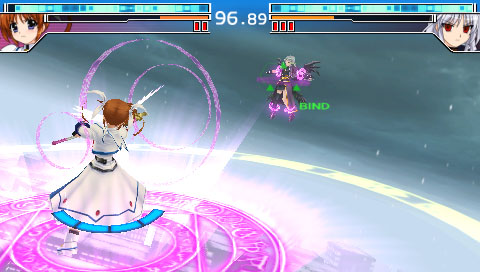 PSP 魔法少女リリカルなのはA's PORTABLE - THE BATTLE OF ACES - 21