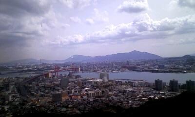 高塔山 展望台から