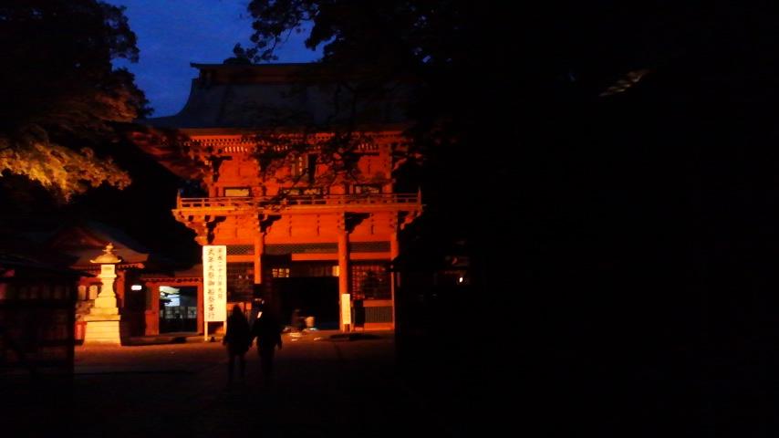 鹿島神宮夕方到着