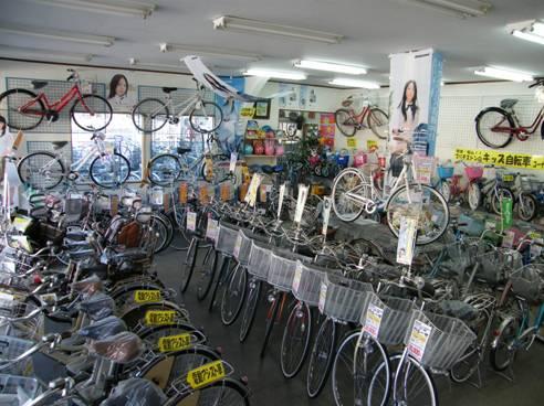 自転車の 自転車 廃棄 無料 : サイド商会 鴻巣店 2009年10月