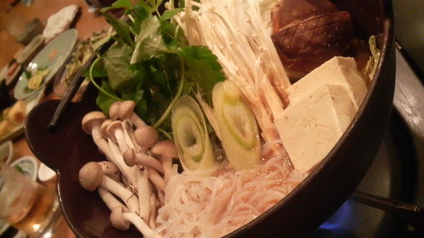 かなわ(牡蠣土手鍋お野菜)
