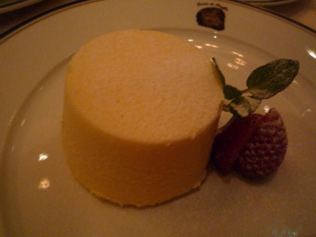テール・ド・トリュフ(ベイクドチーズケーキ 3種類のトリュフ入りジャム)