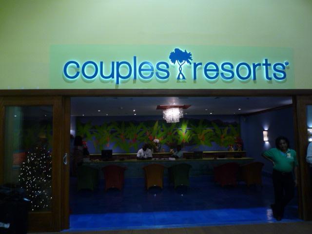 ジャマイカ空港(CouplesResortsカウンター)