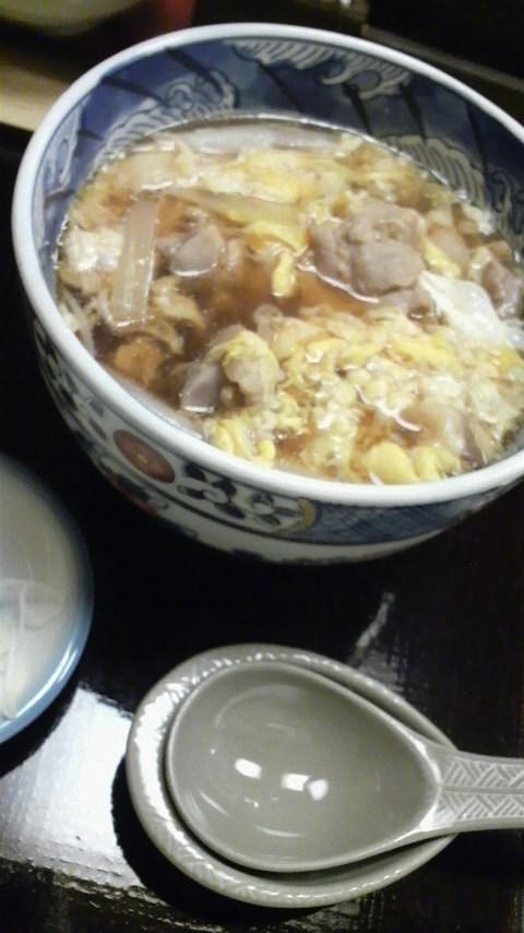 更科(親子南蛮そば)