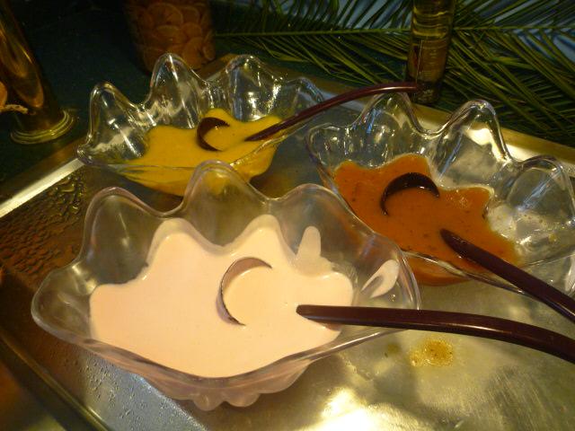 パラツィーナ(昼 saladコーナー横のドレッシング)
