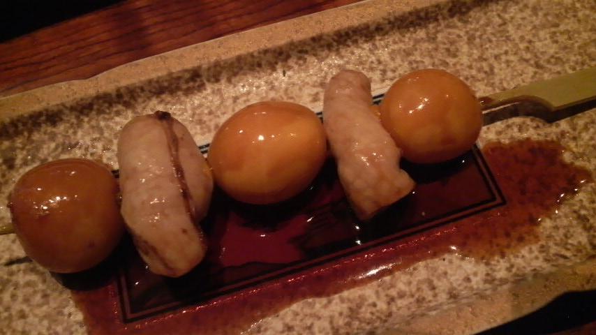今井屋(きんかん串焼き)