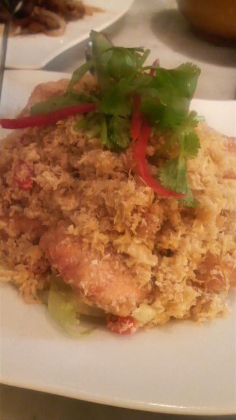 海南鶏飯(バタープラウン)