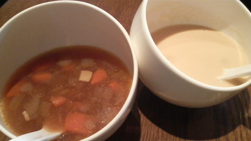 コートドリュージュ(野菜のスープ・カリフラワーのポタージュ)
