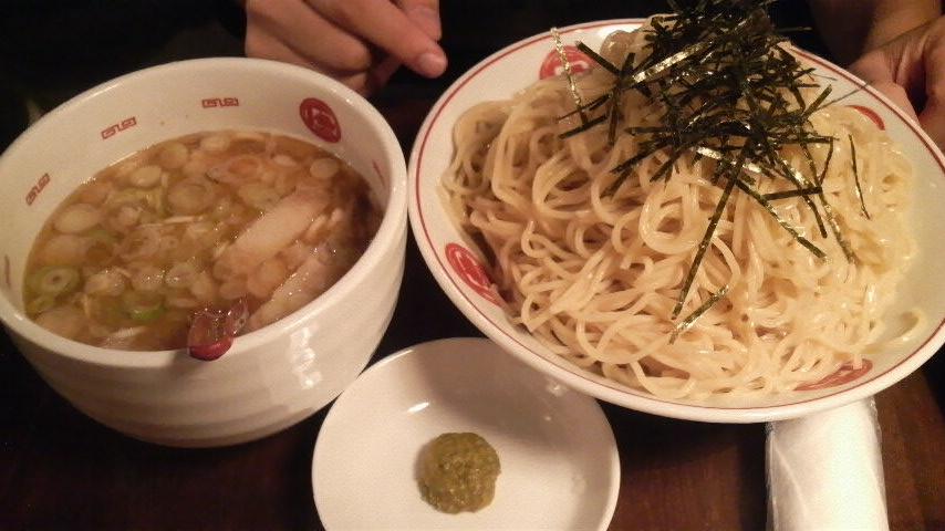 唐そば(つけ麺特盛)