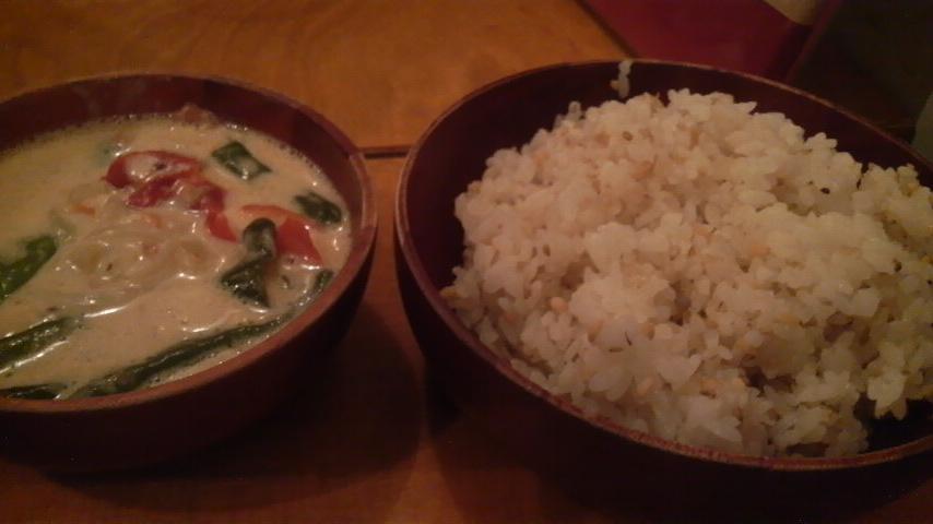 ガテモタブン(エマダッツィ&玄米)