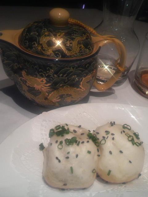 上海小南国(スープ入り生焼き饅頭)