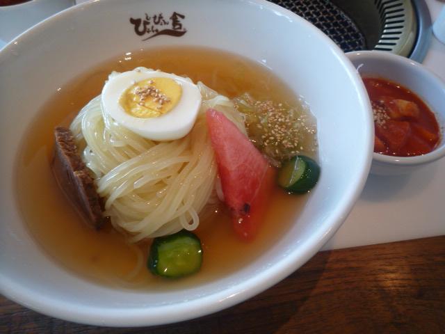 ぴょんぴょん舎GINZA UNA(盛岡冷麺 別添激辛)