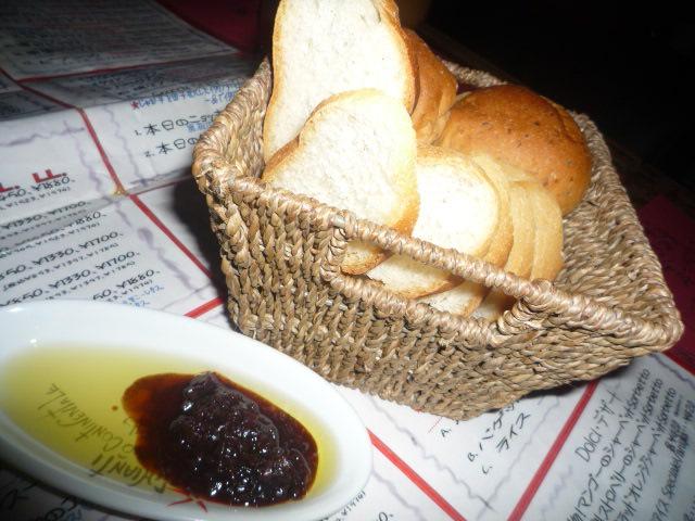 iL-CHIANTI(パン&オイル&バルサミコ)