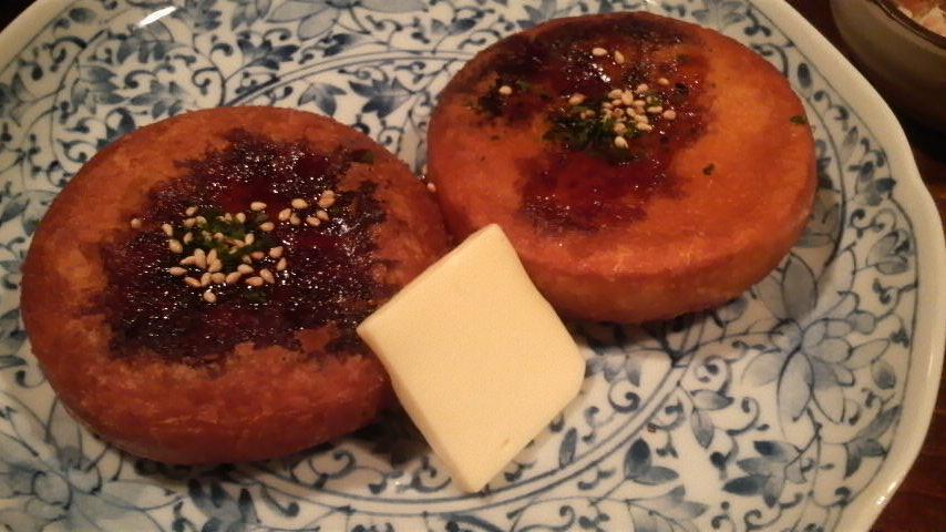 オホーツク市場海鮮道楽(南瓜餅)