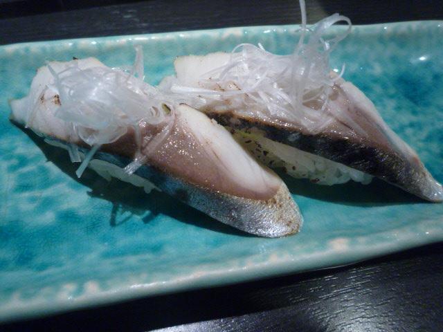 三海の華(炙りサバ寿司)