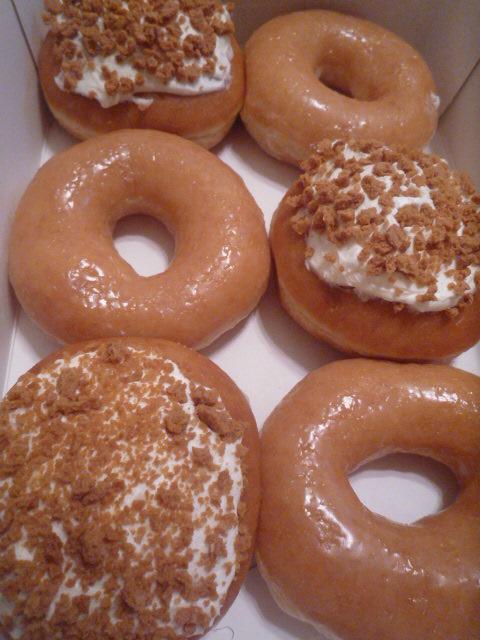 KrispyKreme(オリジナル・グレーズド、チェリーチースパイ)up