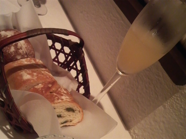 IL BAFFONE (自家製パン)&ホワイトミモザ