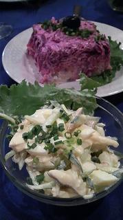 BAIKAL(スモークチキンと野菜のサラダ マヨネーズ風味)