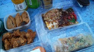 food(広島焼き・いか焼き・唐揚げ・いなり)