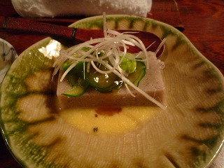 加那や(蕎麦豆腐)
