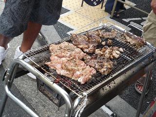 十番祭り(ジャークチキン)making