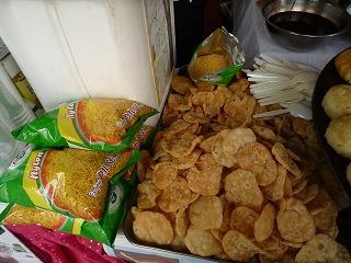 十番祭り(チャナパコラDeviBistro)making_chips